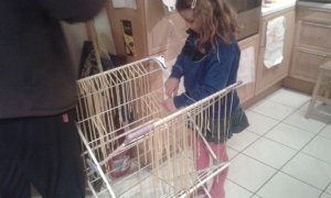 There may possibly be other ways to stop fresh tagliatelle from tangling....
